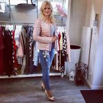 Outfit italyfashion outfit gyr pastel jeans goodday kurtgeiger